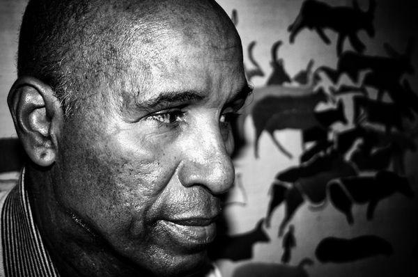 Cheikh Saad Bouh Kamara. Crédit : Mamoudou Lamine Kane