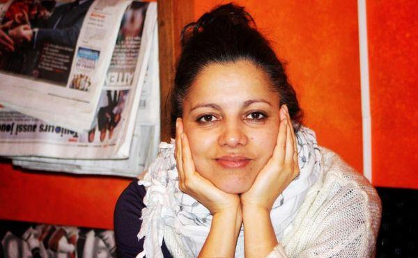 Houria Bouteldja, à Paris le 6 mars 2012.  Crédit : MLK