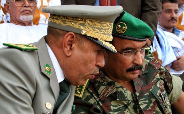 Les généraux Aziz et Ghazouani. Crédit : DR