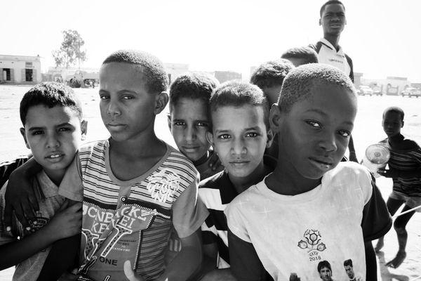Des enfants de Bassikounou. Crédit : MLK / Mozaikrim