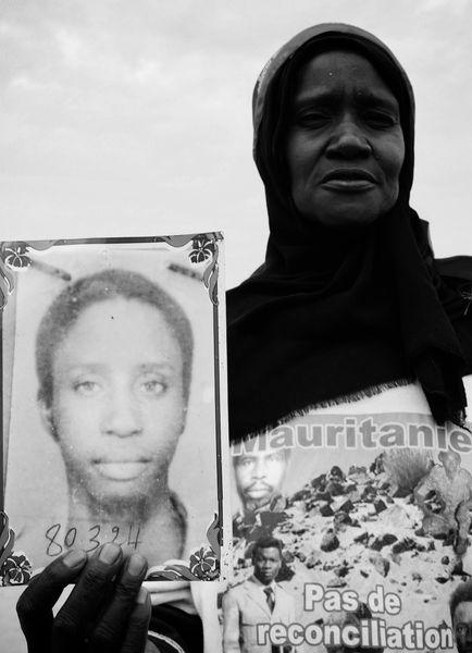 Aissata Lô, veuve du caporal Djbril Bossiradj. Crédit : MLK/Mozaikrim