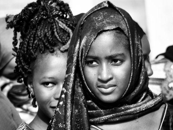 Lycéennes du lycée de Sélibabi, au Guidimakha. Crédit : MLK/Mozaikrim