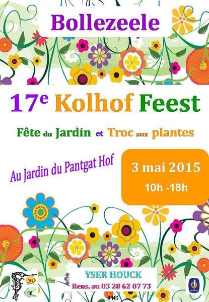 Fête des jardins Flamands à Boolezelle