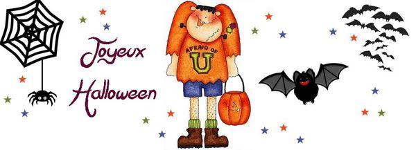 Bannière halloween pour facebook