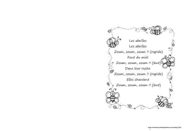 """Bien connu Printemps .. """" les abeilles """" - Le blog de nounoucoindespetits YE34"""