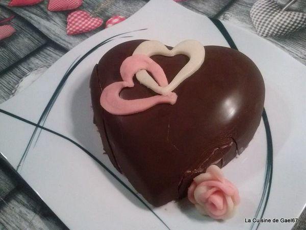 Dessert de la Saint Valentin...