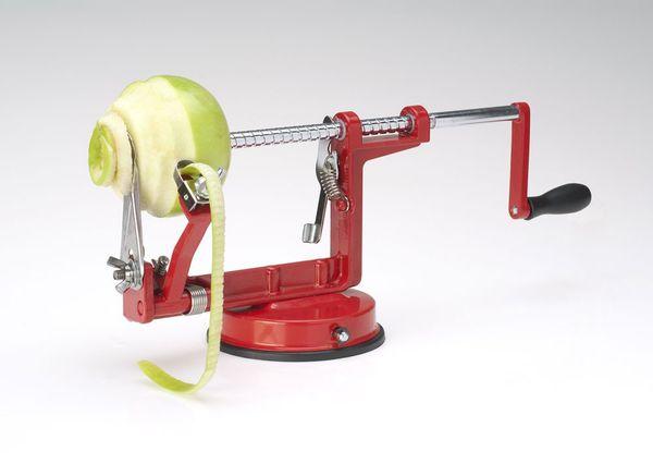 Eplucher et couper une pomme en moins de 30 secondes !