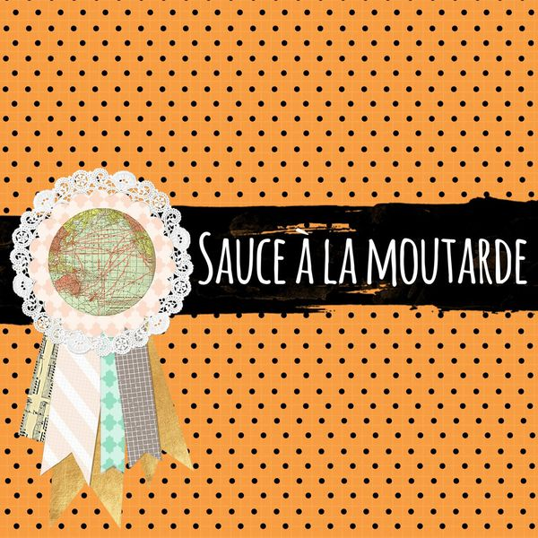 Apéro time - Sauce à la moutarde