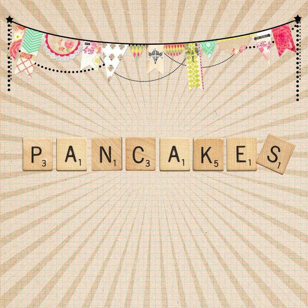 Pancakes vegan !