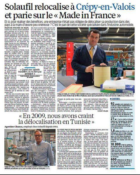 Page du Parisien du lundi 20 octobre 2014