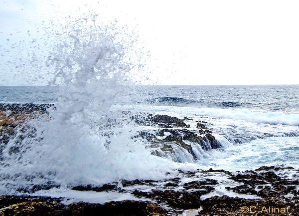 Mer agitée à Carry le Rouet
