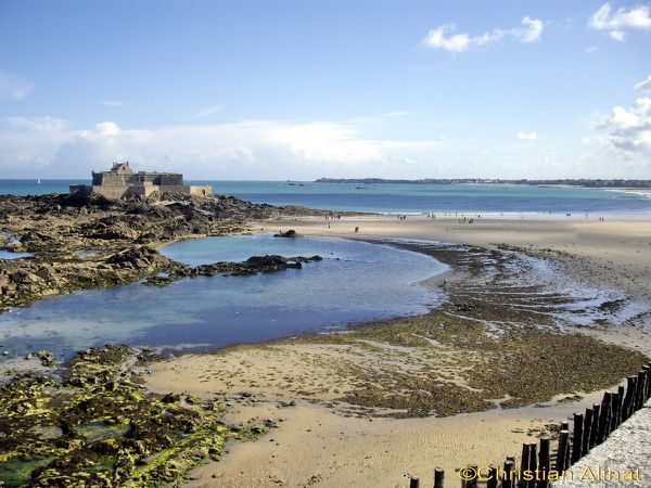 Saint Malo et le fort national