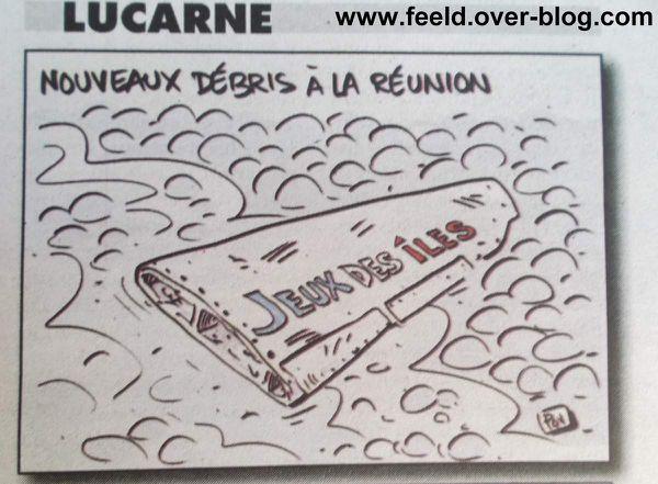 Nouveaux débris à la Réunion