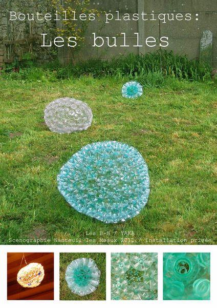 Bouteilles en plastiques