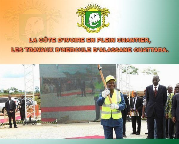 Les travaux d'Hercule d'Alassane Ouattara (AN4)