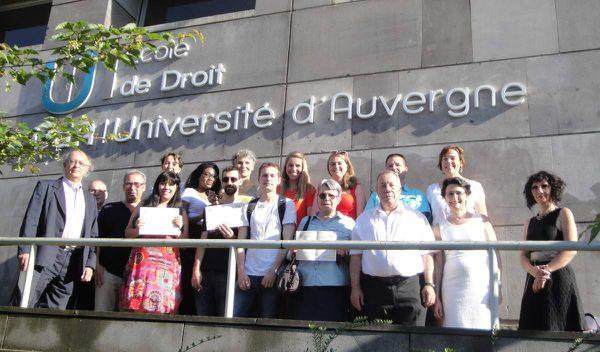 Promotion 2016 DU Médiation Ecole de Droit-Université d'Auvergne