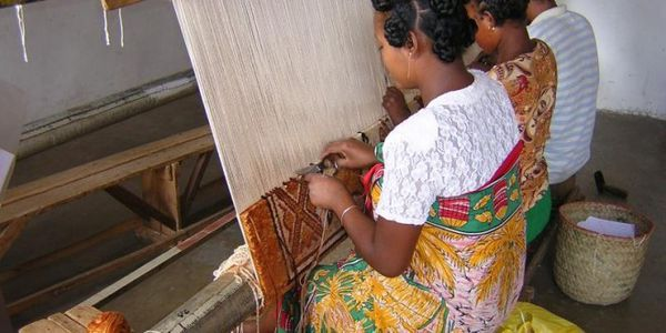 Le tapis mohair malagasy