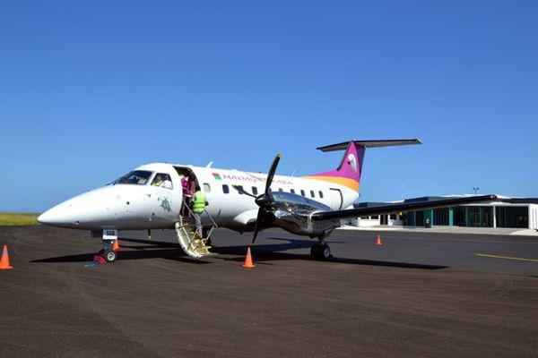 Vol inaugural de Madagasikara Airways