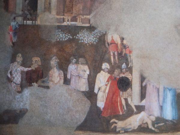 La cité-état  sous la Tyrannie -1338-1339 - Ambrogio Lorenzetti, Sienne