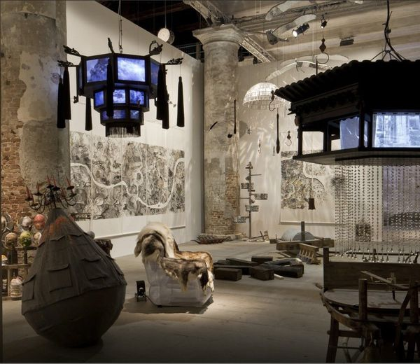 La biennale de Venise - 2015 - All world's Futures