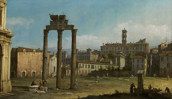 Ruines du forum - Bernardo Bellotto