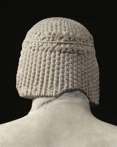 La tête du Cavalier Rampin - Chef-d'œuvre de l'art archaïque vers 550 avant JC -