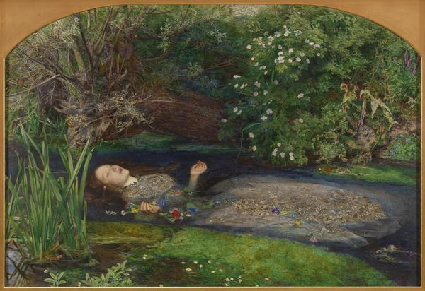 Sir John Everett Millais,Bt Ophelia 1851–2