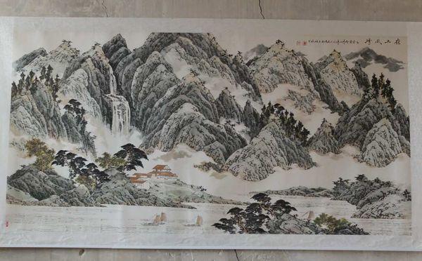 Cloître de La Psalette  - L'art du Vide et du Plein- Encre de Chine