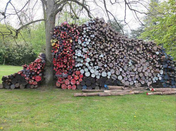 Chaumont sur Loire - Art contemporain - El Anatsui et autres artistes