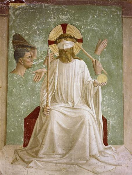 Fra Angelico - Le Christ  aux outrages - vers 1441