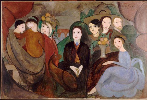 Apollinaire et ses amis et Marie Laurencin