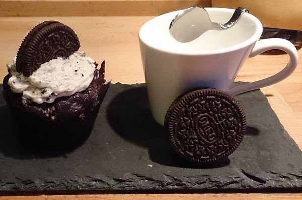 Cupcakes aux biscuits Oreo