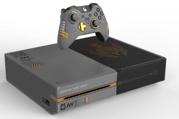 Unboxing Xbox one serie Call of Duty: Advanced Warfare