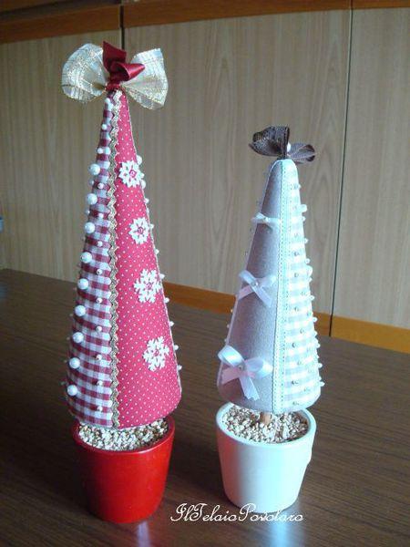 Alberelli che fanno  &quot&#x3B; Natale &quot&#x3B;