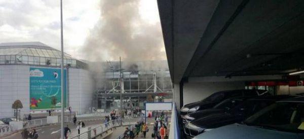 (vidéo)Bruxelles: Deux explosions à l'aéroport ce matin - La première près des avions, la deuxième dans le terminal - 11 morts selon les médias belges et 1 selon la police