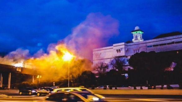 La grande moquéee de Madrid (espagne)