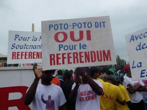 Référendum constitutionnel au Congo