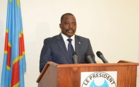 Le Président de la République démocratique du Congo (RDC) Joseph Kabila