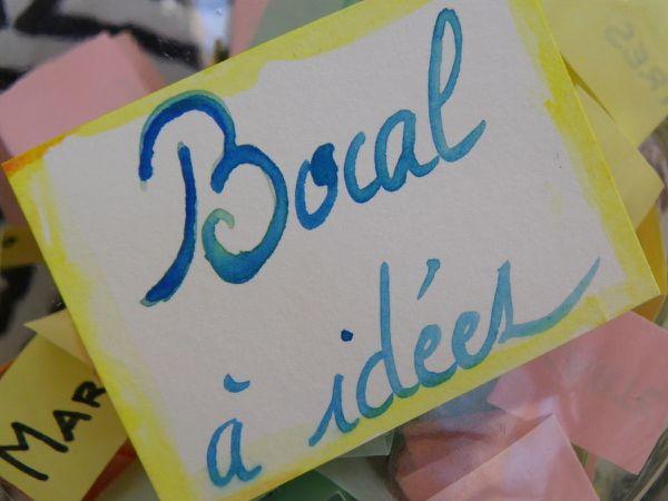 Le bocal à idées (&quot&#x3B;Maman, je sais pas quoi faire !&quot&#x3B;)
