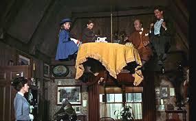 Mary Poppins et les gaz-à-faire-rire.