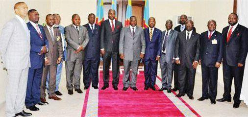 Le président Kabila et les gouverneurs de provinces