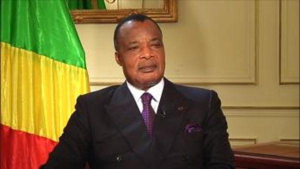 Le président Denis Sassou Ngouesso