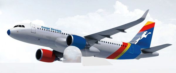 Un A320 de Congo Airways