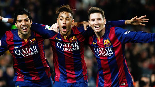 Le trio magique du Barça : Suarez, Neymar et Messi