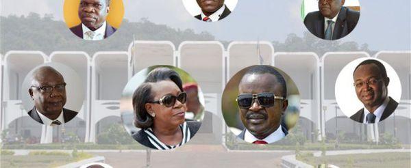 Candidats aux élections en Centrafrique
