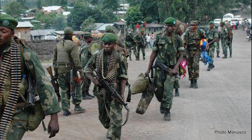 Des militaires congolais