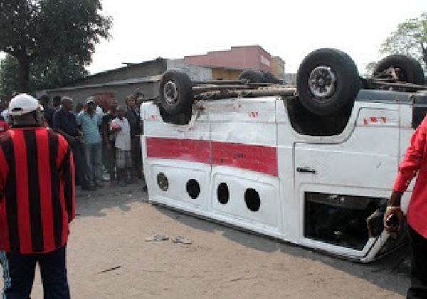 Un accident de circulation en RDC