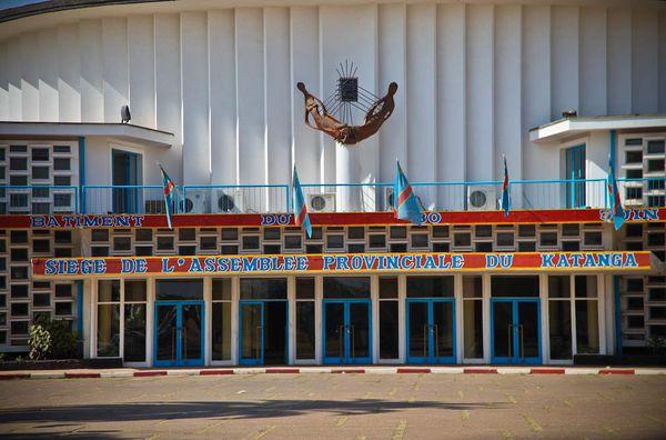 Le siège de l'Assemblée provinciale du Haut-Katanga
