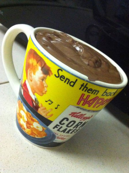 Un chocolat chaud épais pour se réchauffer