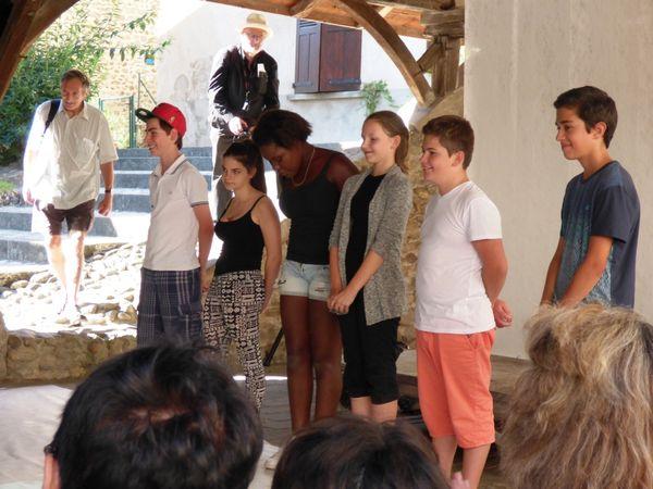 échos du festival Textes en l'air par Francoise Daudeville, bénévole